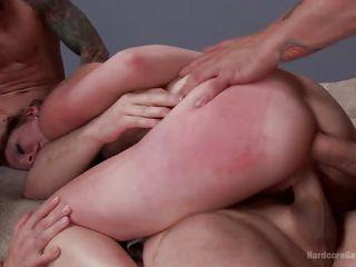 Грубый секс кастинг