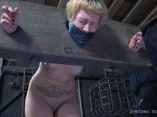 Секретарша показала порно