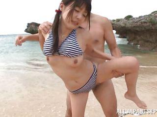 любительский секс на пляже