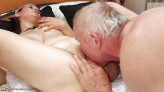 пожилые японки порно