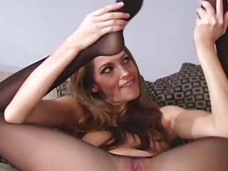 Русские секретарши в капроновых колготках порно фотки