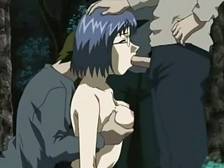 Аниме порно со шлюхами