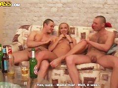 Русское порно пьяна подруга