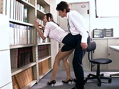 смотреть секс в офисе